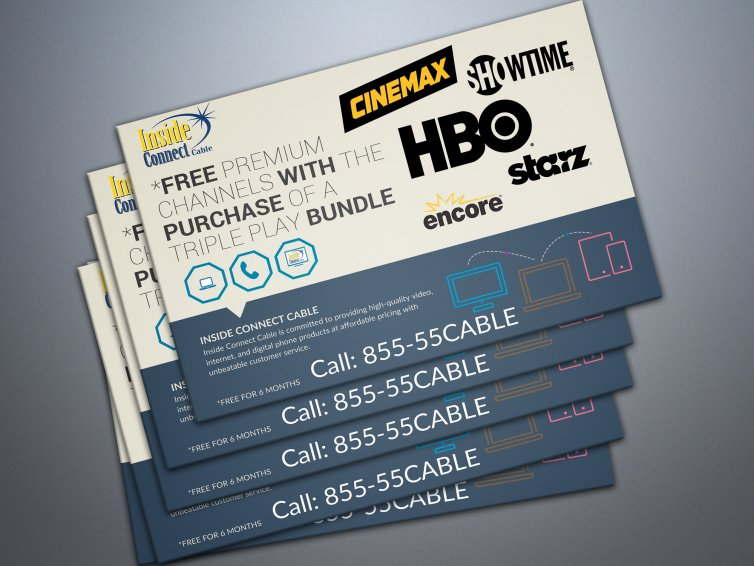 Cable Company Marketing Piece